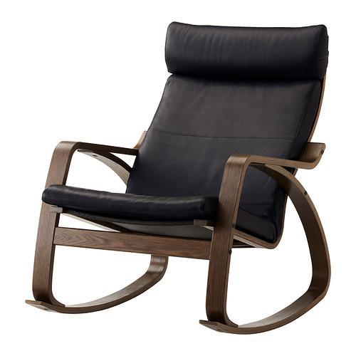 pohang schaukelstuhl smidig schwarz smidig schwarz 199. Black Bedroom Furniture Sets. Home Design Ideas