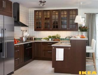 Interior dapur dalam gaya klasik