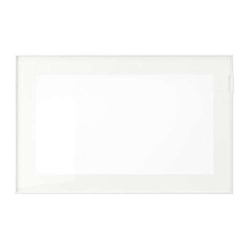 ГЛАССВИК Стеклянная дверь - белый/матовое стекло