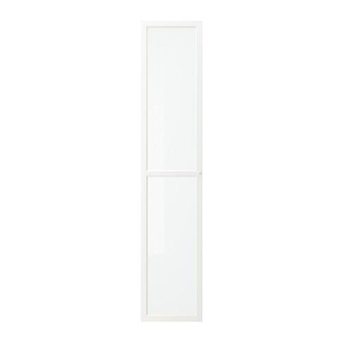 ОКСБЕРГ Стеклянная дверь - белый
