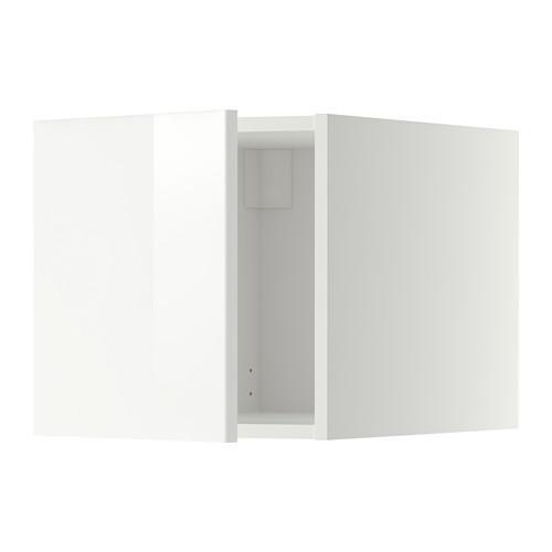 МЕТОД Верхний шкаф - Рингульт глянцевый белый, белый