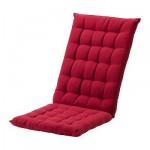 ХОЛЛО Подушка спинная/на сиденье - красный