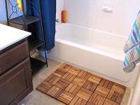 Bath mat flooring from IKEA Platt