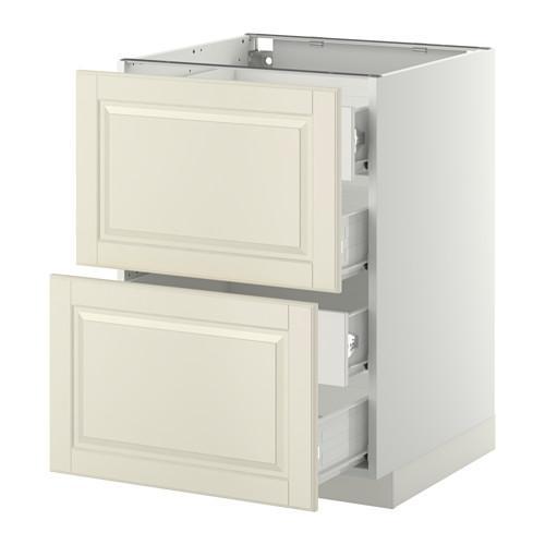 verfahren forvara unterschrank vorne pnl 2 4 durchschnittliche schubladen wei mit einem. Black Bedroom Furniture Sets. Home Design Ideas