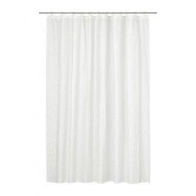 INNAREN Duschvorhang weiß