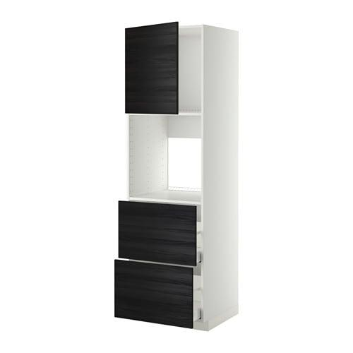 METHOD / MAXIMUM High y / dhvk + dvr / 2frnt / 2his file - white, Black woodsseed, 60x60x200 cm