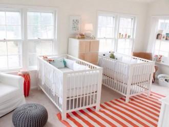 Детская комната для близняшек - фото