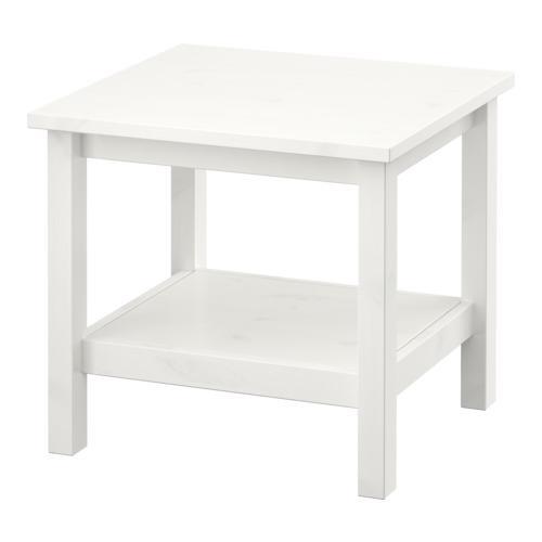ХЕМНЭС Придиванный столик - белый