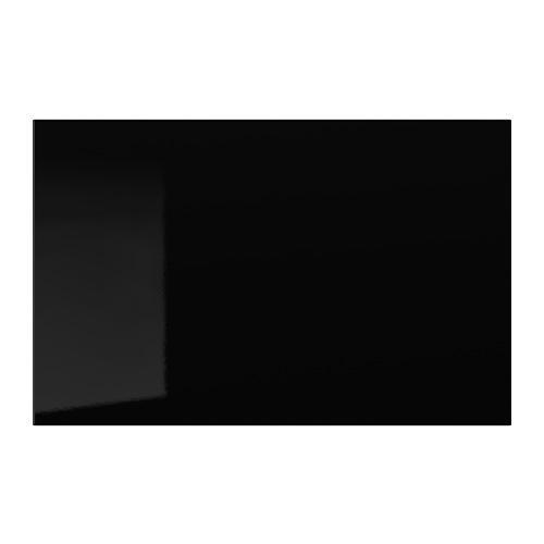 СЕЛЬСВИКЕН Дверь/фронтальная панель ящика - глянцевый черный