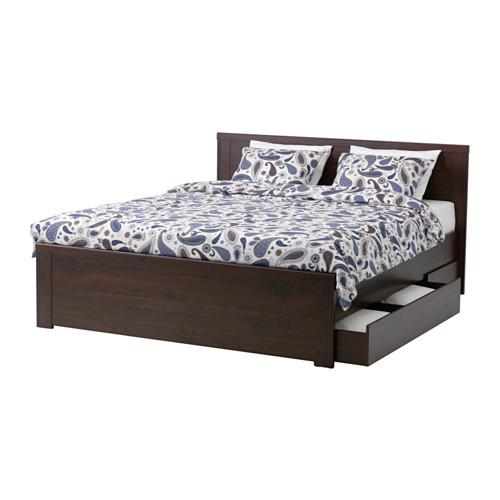 Brusali Rama łóżka Z Szufladami 2 160x200 Cm