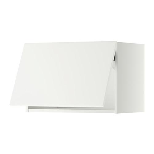 МЕТОД Горизонтальный навесной шкаф - 60x40 см, Хэггеби белый, белый