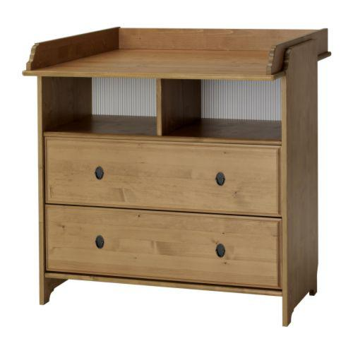 LEKSVIK Changing Table Cabinet