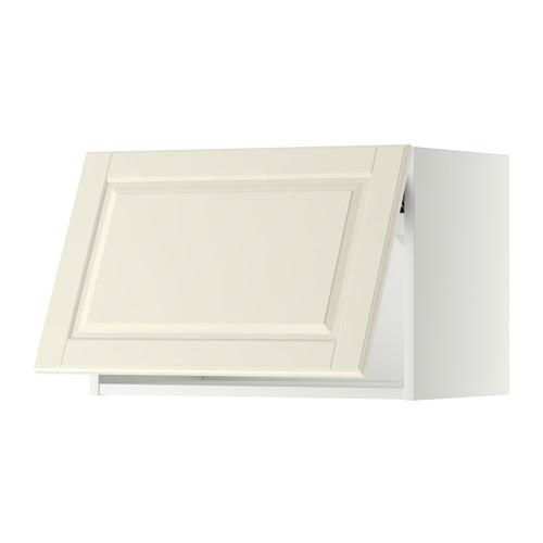 МЕТОД Горизонтальный навесной шкаф - 60x40 см, Будбин белый с оттенком, белый