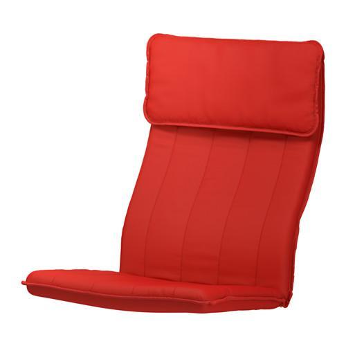 ПОЭНГ Подушка-сиденье на кресло - Ранста красный