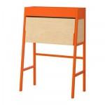 ИКЕА ПС 2014 Бюро - оранжевый/березовый шпон