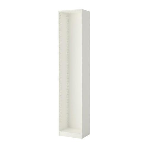 ПАКС Каркас гардероба - белый, 50x35x236 см