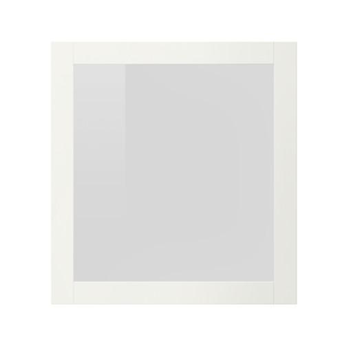 СИНДВИК Стеклянная дверь - белый