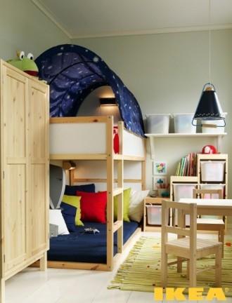 Kinderzimmer in der Chruschtschow