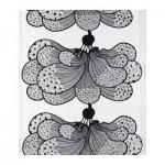 SARALIZA Fabric - White / Black
