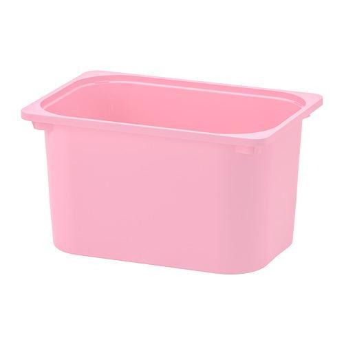 ТРУФАСТ Контейнер - розовый