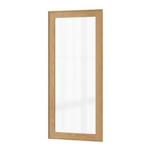 ЭКЕСТАД Стеклянная дверь - 30x100 см
