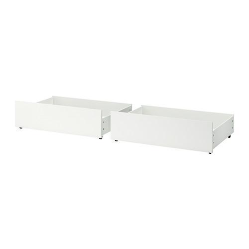 МАЛЬМ Ящик д/высокого каркаса кровати - белый