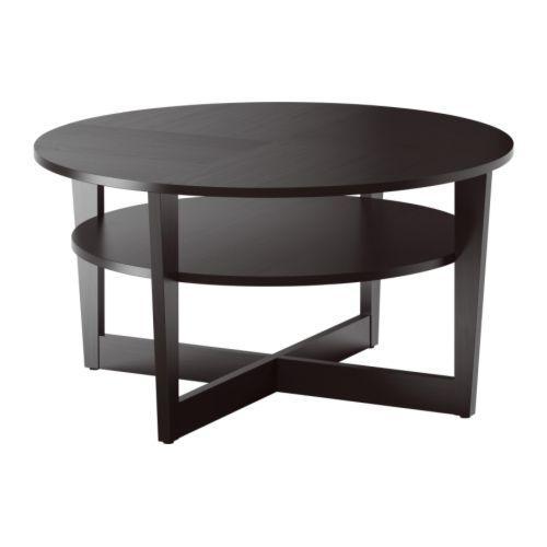 ВЕЙМОН Журнальный стол - черно-коричневый