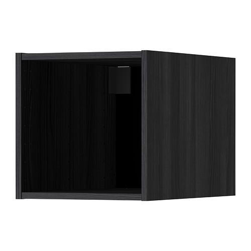 МЕТОД Верхний шкаф - под дерево черный