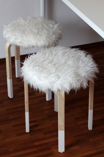 Comfortable stool IKEA Frost