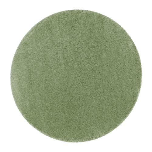 ÅDUM地毯,长绒毛绿色195厘米