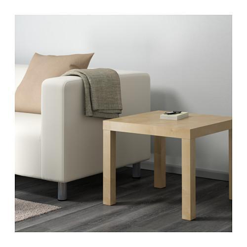 ЛАКК Придиванный столик - под березу