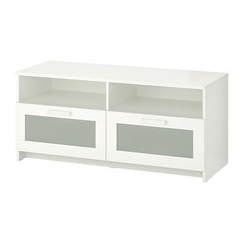 Ikea Porta Tv Bianco.Brimnes Porta Tv Bianco 120x41x53 Cm