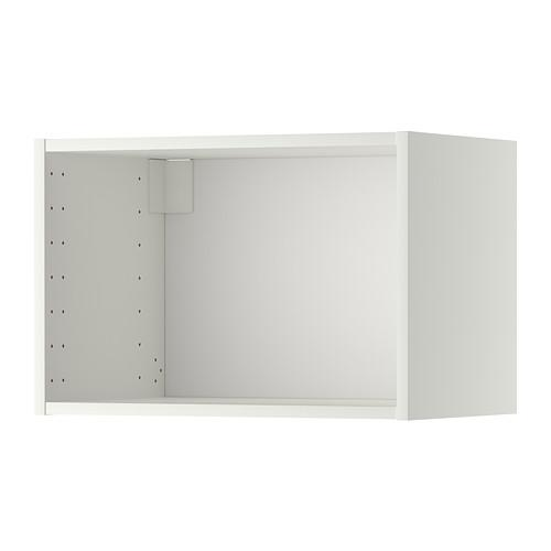 МЕТОД Каркас навесного шкафа - белый, 60x37x40 см