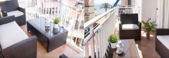 Balkon des spanischen Küste - Foto