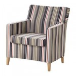 Karlstad Fauteuil - Dilne gris / beige