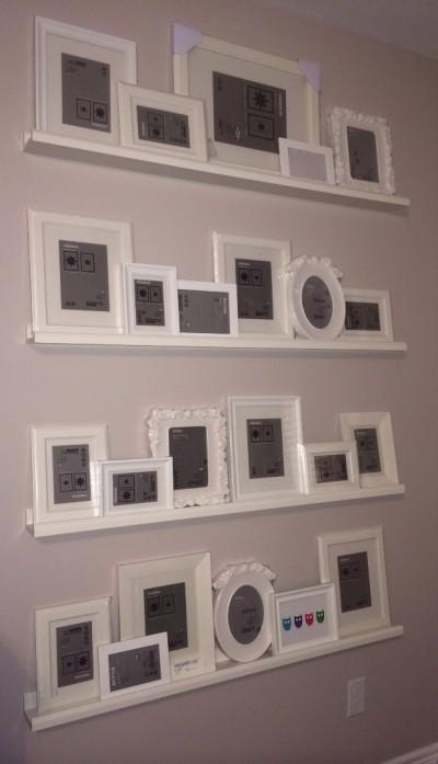 дея размещения фотографий на стене