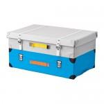 FLYTTBAR чемодан для игрушек бирюзовый