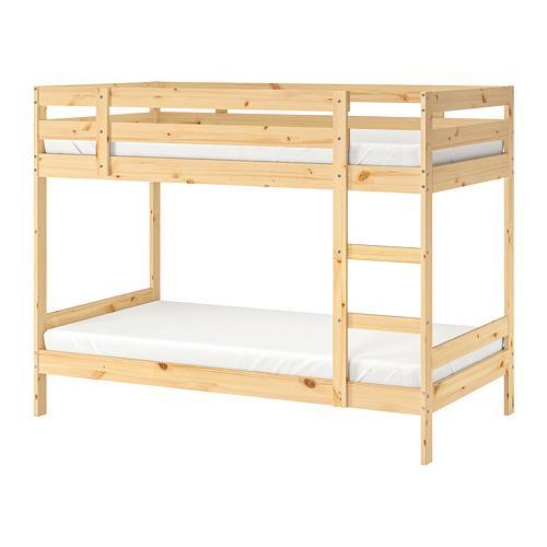 Letto A Castello Stora Ikea.Mydal Frame 2 Tiered Pine Bed 001 024 52 Recensioni Prezzo