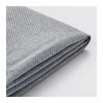 ХОЛЬМСУНД Чехол на 3-местный диван-кровать - Нордвалла классический серый