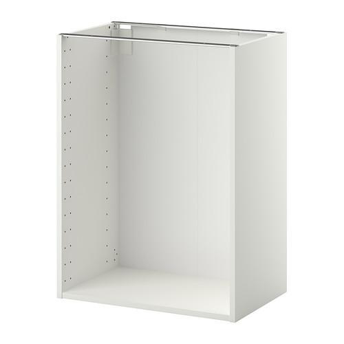 МЕТОД Каркас напольного шкафа - 60x37x80 см, белый