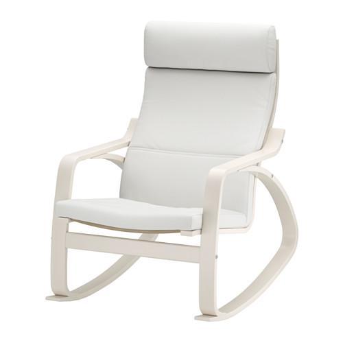 Poang sedia a dondolo finnsta white finnsta white 991 - Sedia poang ikea ...