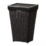 KNARRA Laundry basket with lining