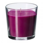 SINLIG Scented candle in glass