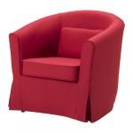 ТУЛЬСТА Чехол кресла - Нордвалла красный