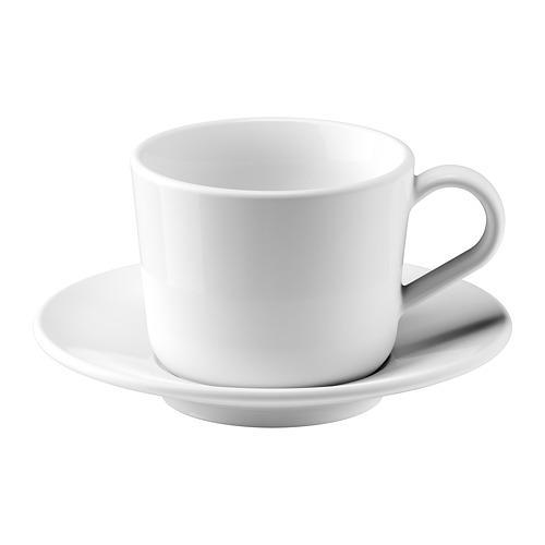 ИКЕА/365+ Чашка с блюдцем