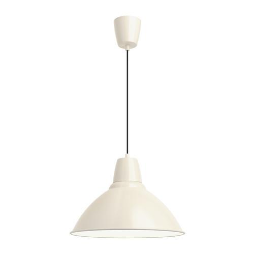 ФОТО Подвесной светильник - белый с оттенком, 38 см