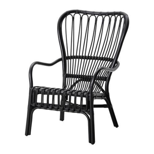 СТУРСЕЛЕ Кресло c высокой спинкой