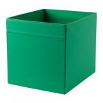 ДРЁНА Коробка - зеленый