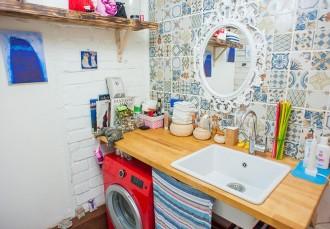 Необычная ванная комната своими руками