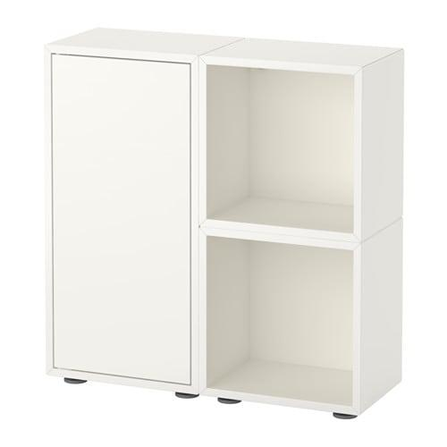 Armadietti In Plastica Ikea.Eket Combinazione Di Armadietti Con Gambe Bianco 691 891 98